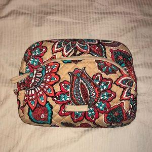 Vera Bradley Desert Rose Large Makeup Bag